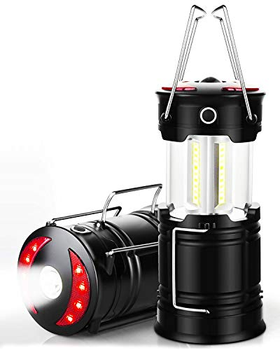 Maxesla Lampara Camping Recargable, 4 Modos de Luz Camping LED Recargable, the Ultimate Collapsible Luz Camping for Fishing, Car, Garage and Emergencies, Magnetic Lantern, Flashlight and Emergency